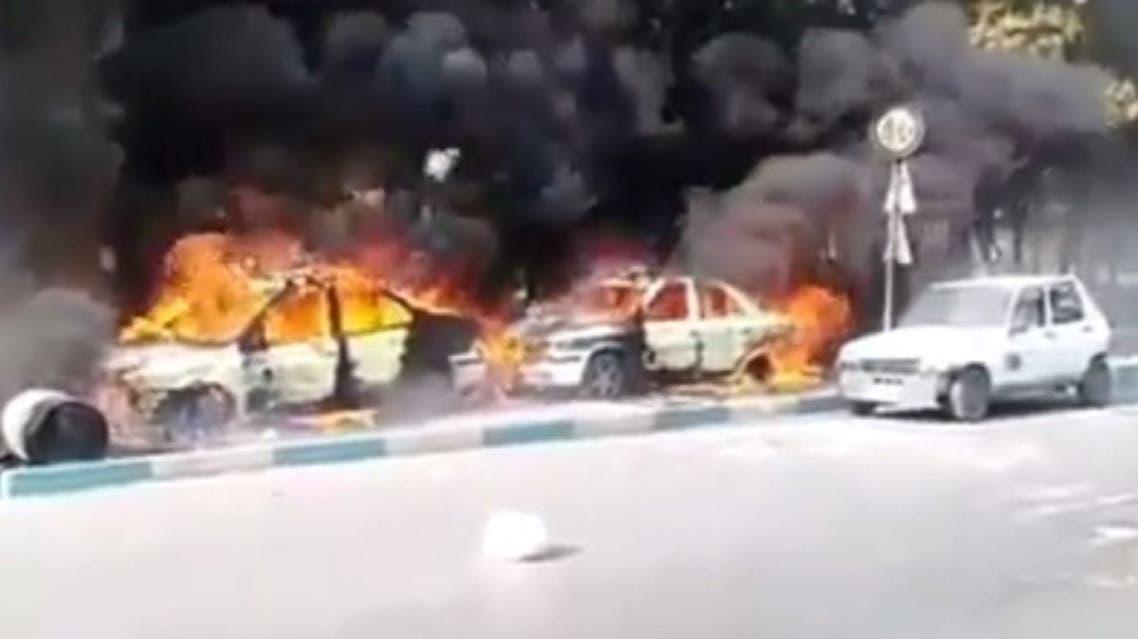 احتجاجات إيران خلال قطع الإنترنت عن البلاد