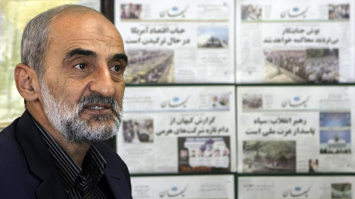 Iranian Hossein Shariatmadari, director of the hardline Kayhan newspaper group. (File photo: AFP)