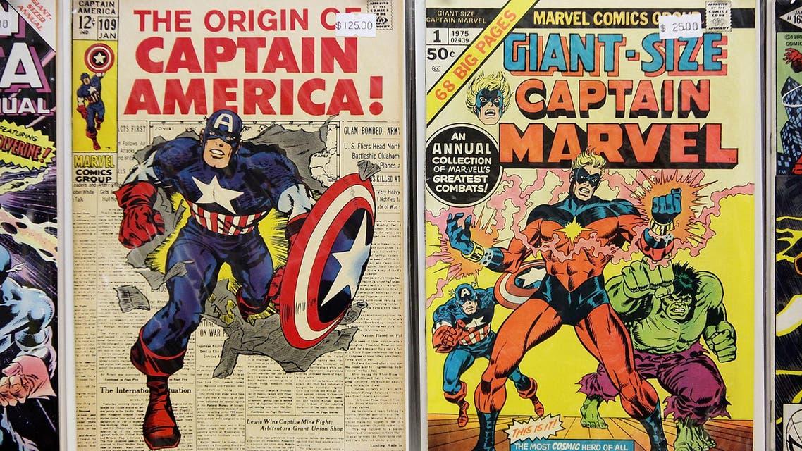 marvel comics vintage 2009 New York Captain America - TH