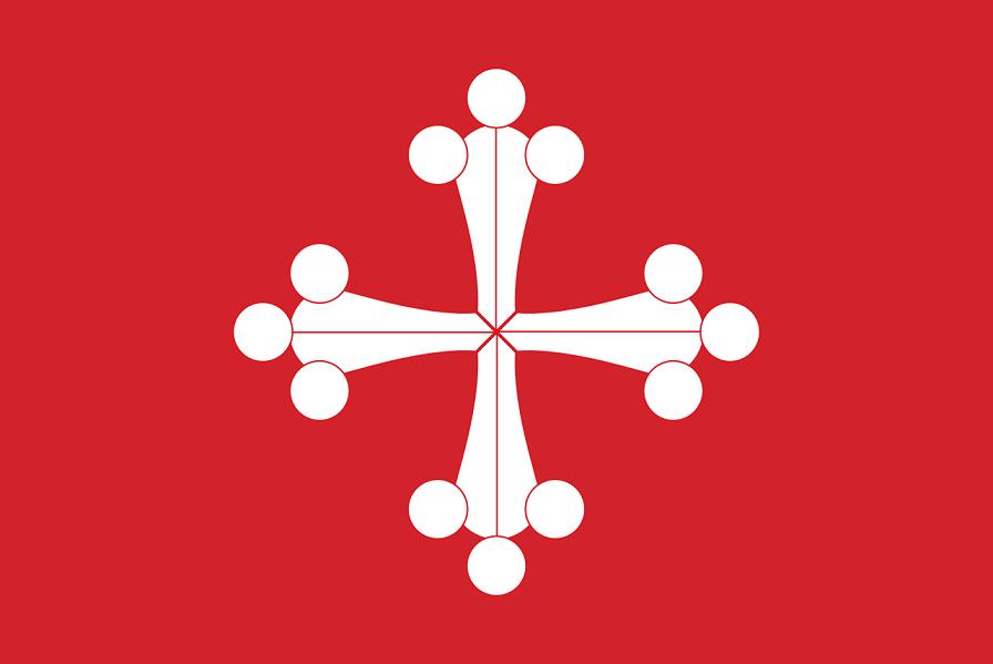 صورة لعلم جمهورية بيزا