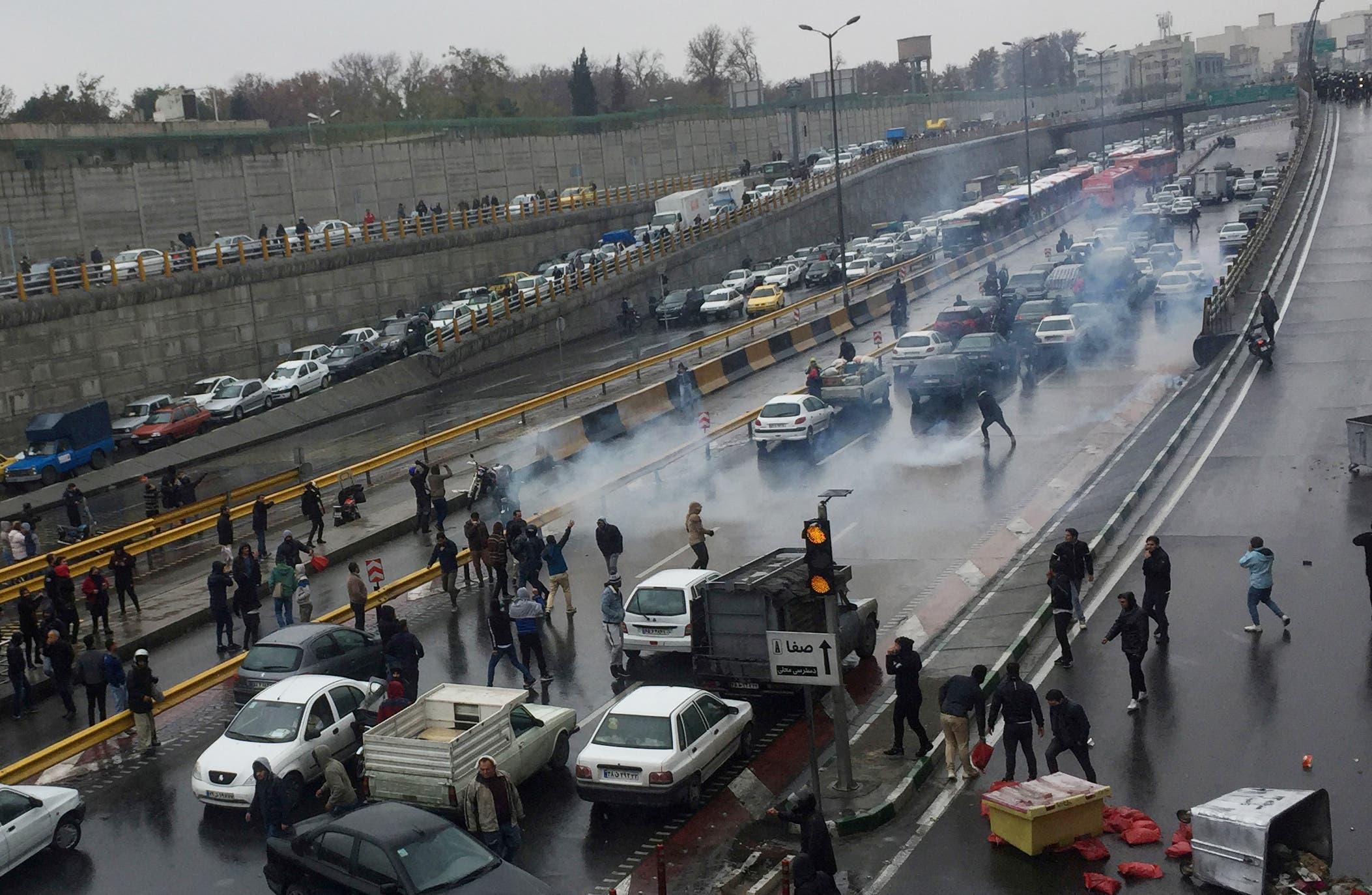 من طهران يوم 16 نوفمبر