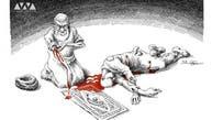 خامنهای زیر پیکان کاریکاتوریستهای منتقد ایرانی