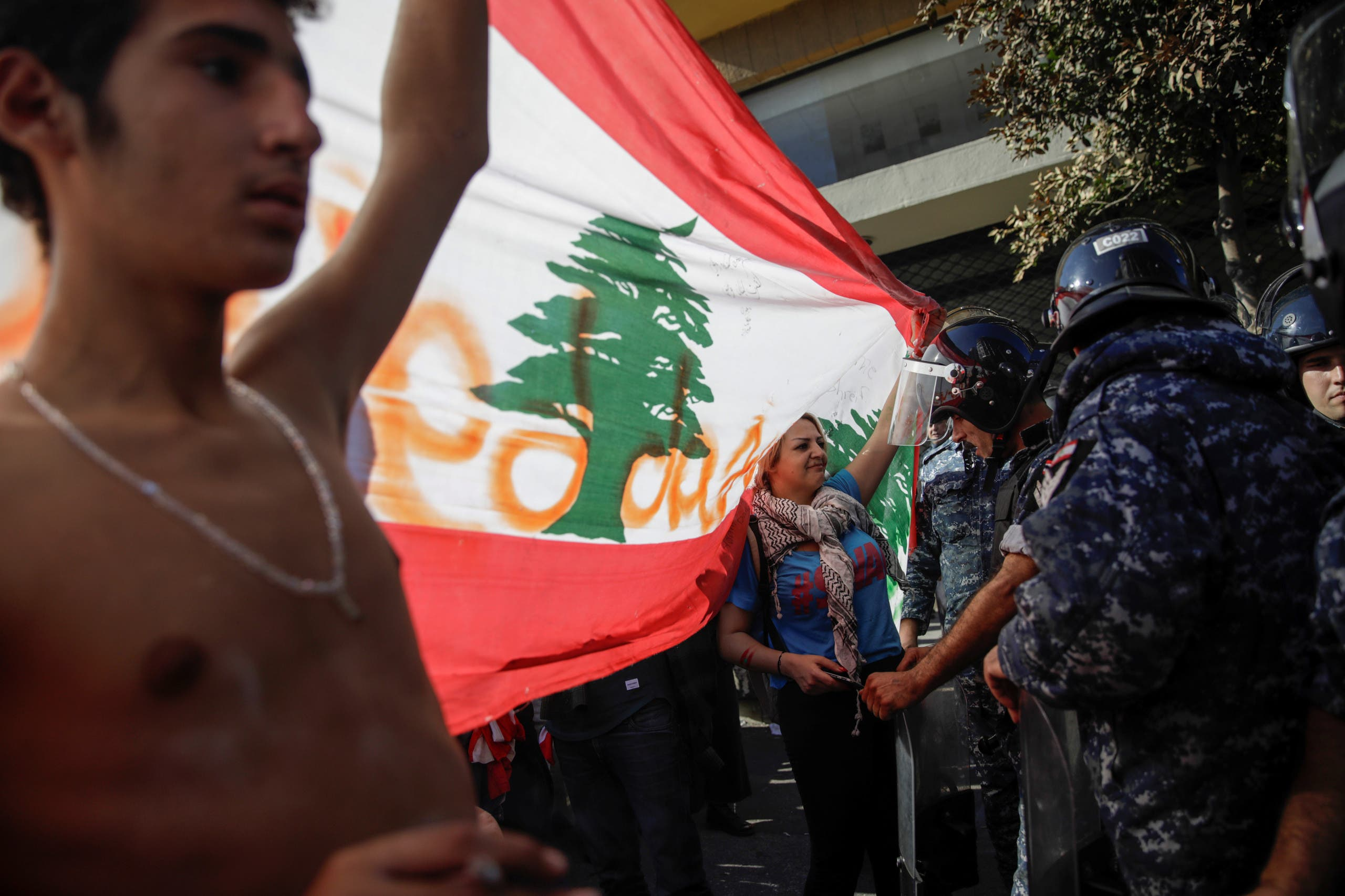 من احتجاجات لبنان
