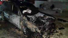 نابلس میں یہودی آبادکاروں کا فلسطینیوں کے گھروں پر حملہ ، کئی گاڑیاں جلا ڈالیں