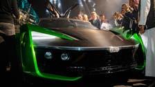 Turki Al-Sheikh unveils electric 'Car 2030' at Riyadh Car Show