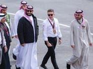 """الأمير محمد بن سلمان يحضر منافسات """"فورمولا إي"""""""