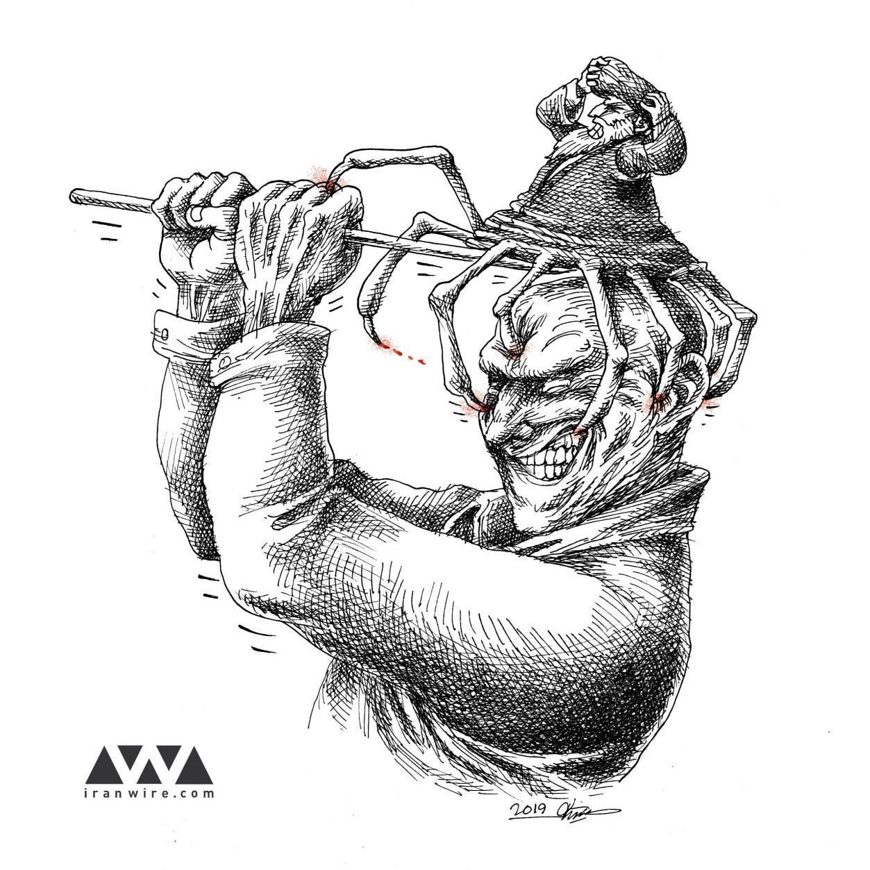 خامنئي تحت سهام رسامي الكاريكاتير الإيرانيين