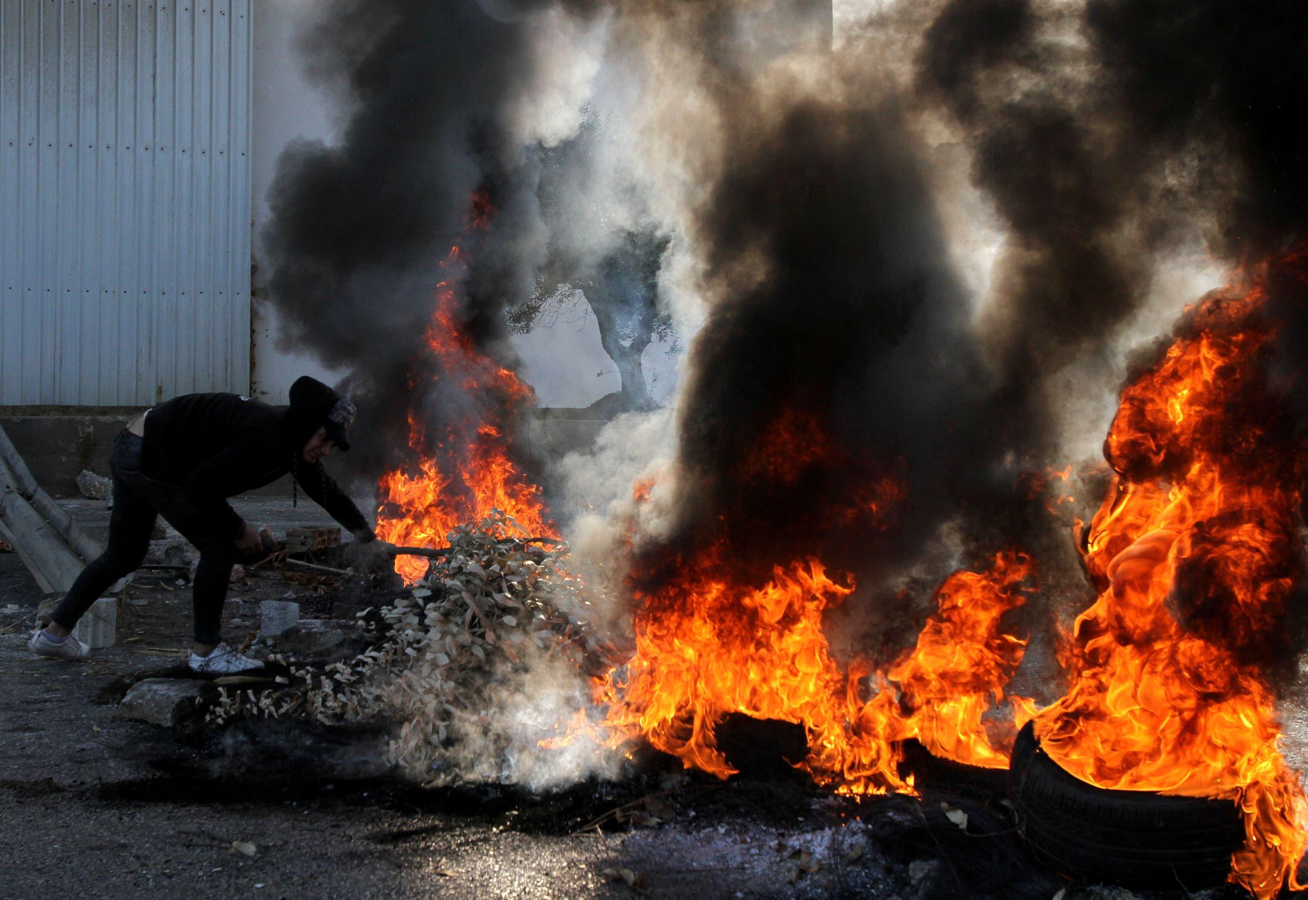 من احتجاجات طرابلس (أرشيفية)