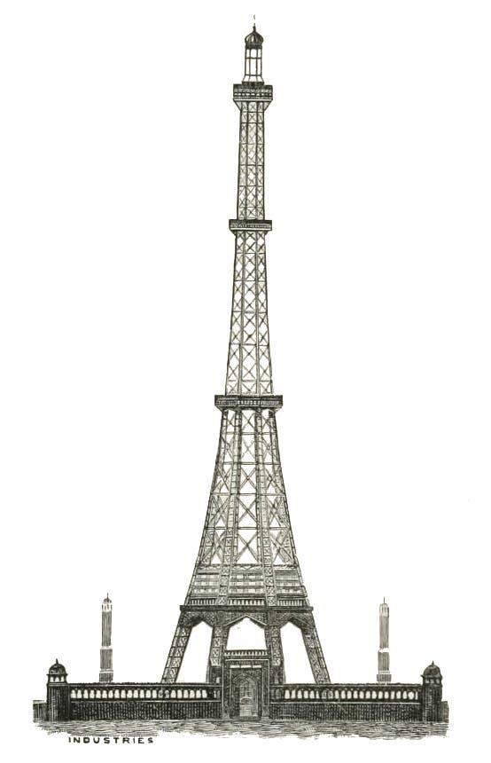 صورة للتصميم الفائز حول مشروع برج واتكين