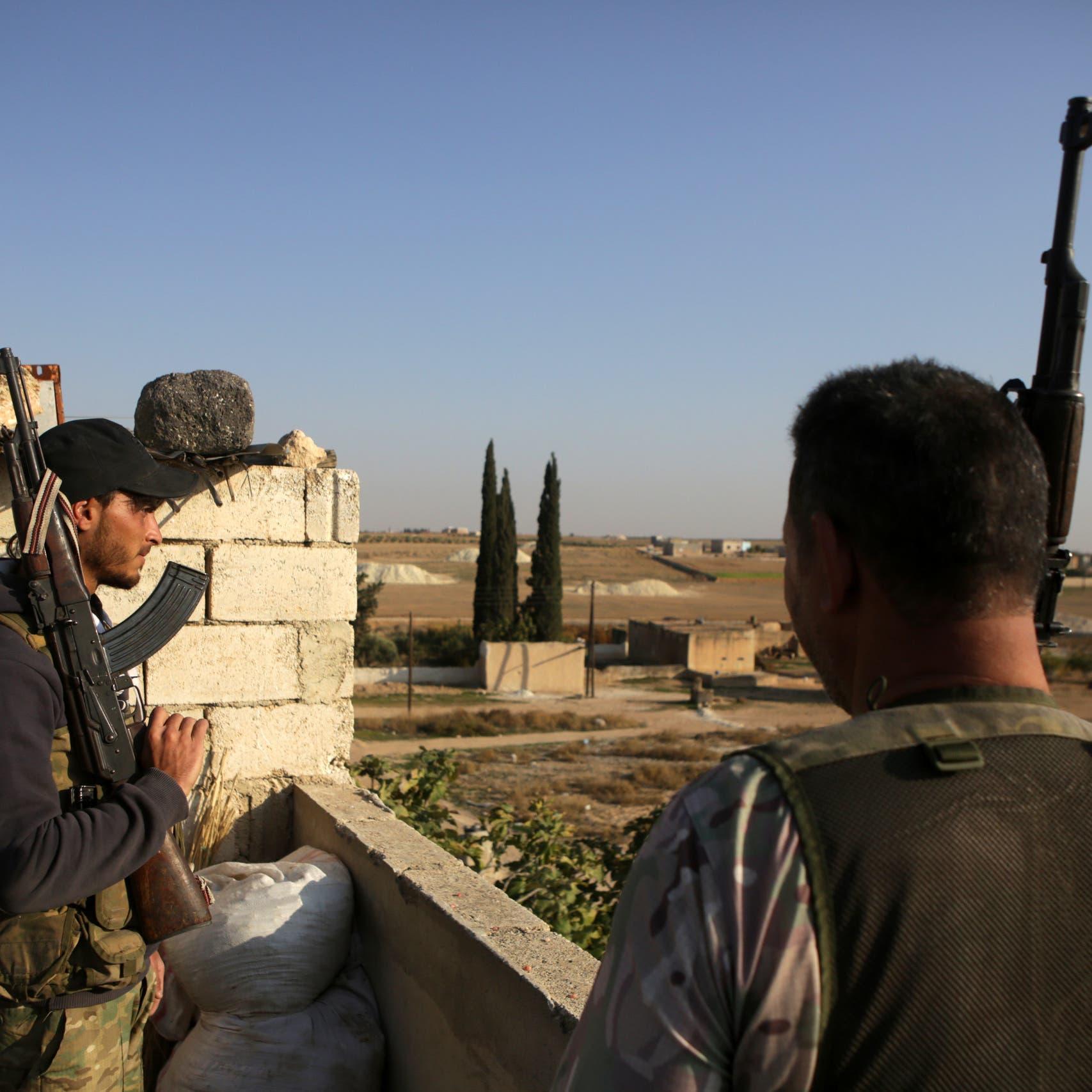 هجوم تركي عنيف على عين عيسى.. ومقتل 19 من الطرفين