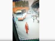 الضحية سيدة حامل.. فيديو حادث دهس مروع يثير غضبا بمصر