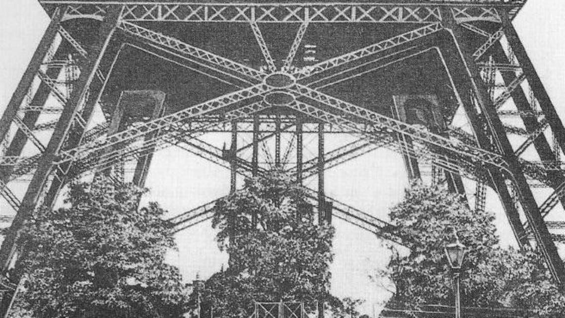 صورة للجزء المكتمل من برج واتكين