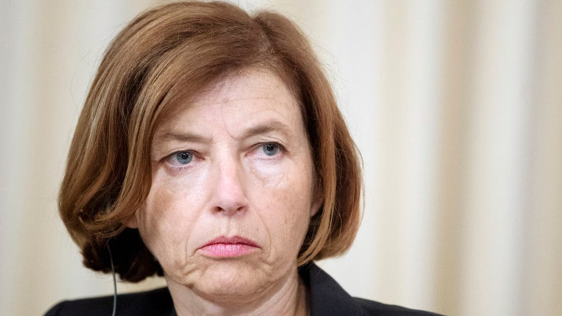 AP FRANCE Defense Minister Florence Parly