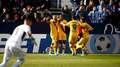 برشلونة فالفيردي ينجو من ليغانيس بفوز هزيل
