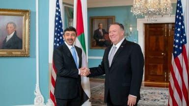 مباحثات أميركية إماراتية حول دور إيران المزعزع للمنطقة