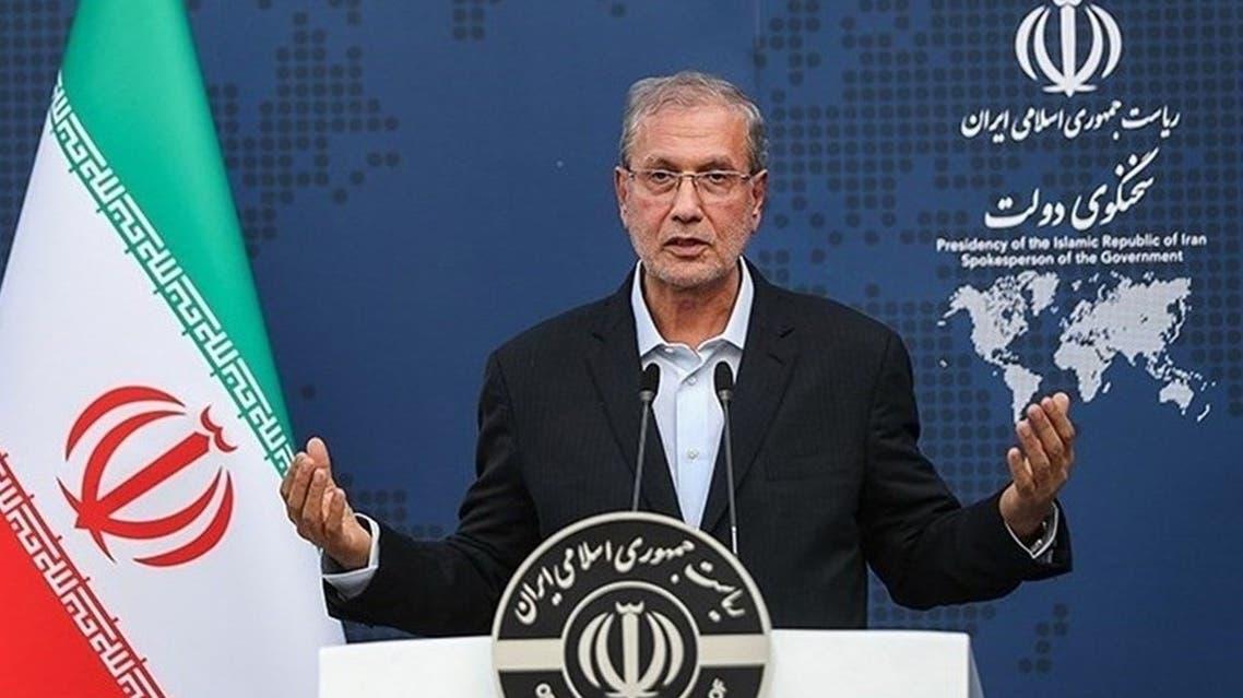 المتحدث باسم الحكومة الإيرامية علي ربيعي
