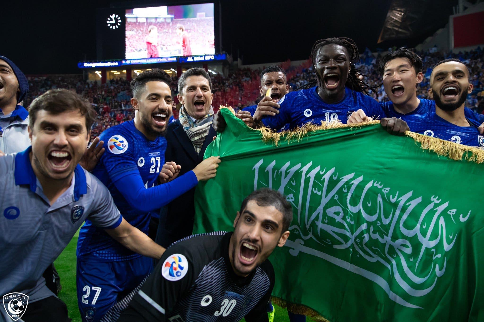 الهلال السعودي بطل دوري أبطال آسيا 2019