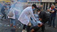 العراق.. دم وغاز في بغداد والناصرية ومواجهات في كربلاء