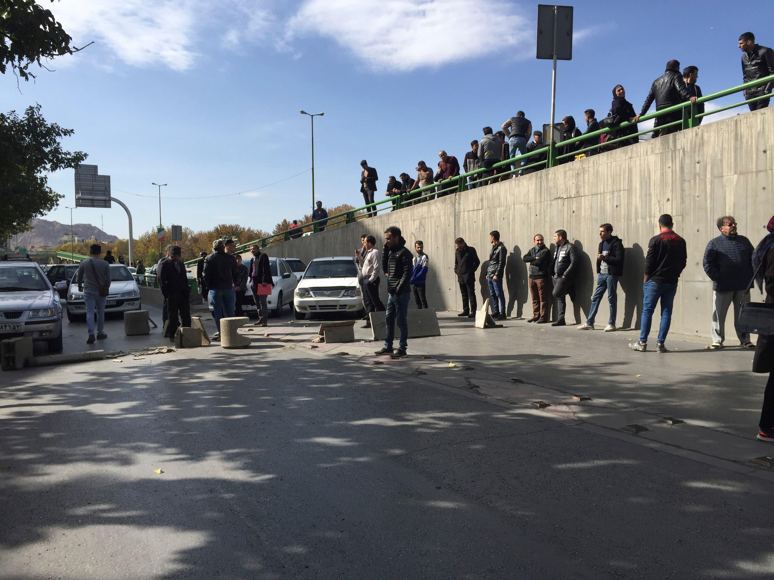 تظاهرات إيران أرشيفية - اسوشيتد برس