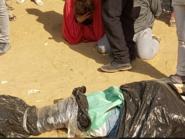 فيديو.. ضبط رجل وسيدة خلال إلقاء جثة في ترعة بمصر