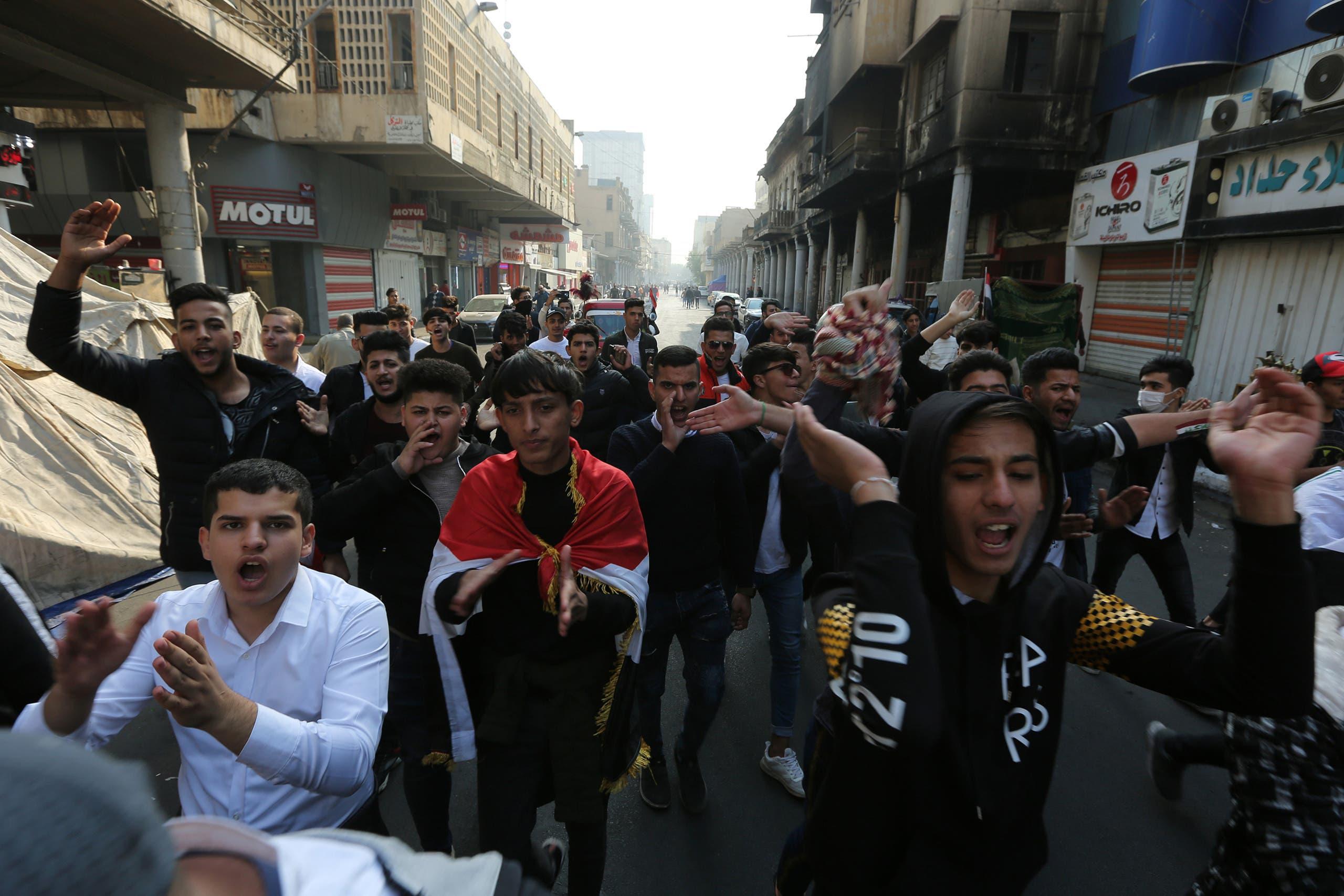 من بغداد(24 نوفمبر- فرانس برس)