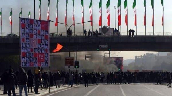 الحرس الثوري: إطلاق النار تم من جهات داخل الاحتجاجات