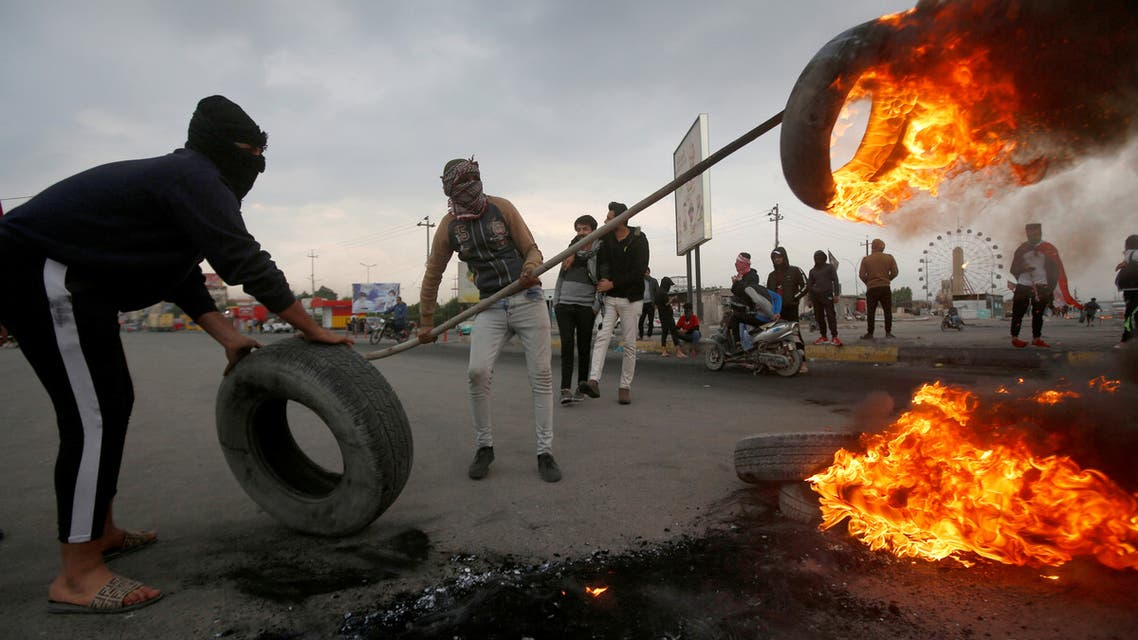 مظاهرات العراق - رويترز