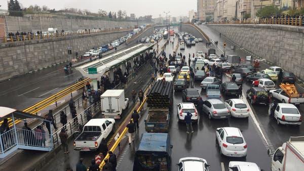 احتجاجات نوفمبر.. عقوبات أميركية تستهدف إيرانيين وكيانات متورطين