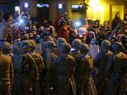 بالفيديو.. موالو حزب الله وأمل يهاجمون محتجي بيروت