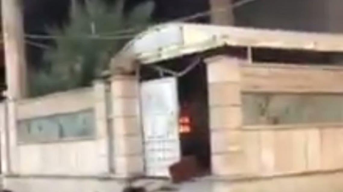 حرق منزل نائب عراقي في الناصرية