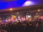 """شاهد أنصار حزب الله وأمل يهتفون لتكرار سيناريو """"7 أيار"""""""