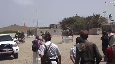 """""""الشرعية"""" اليمنية تبحث مع البعثة الأممية خروقات الحوثي"""