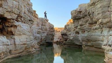 وادي ماوان وسط السعودية.. متنزه بيئي استوطنه البشر قبل عصور