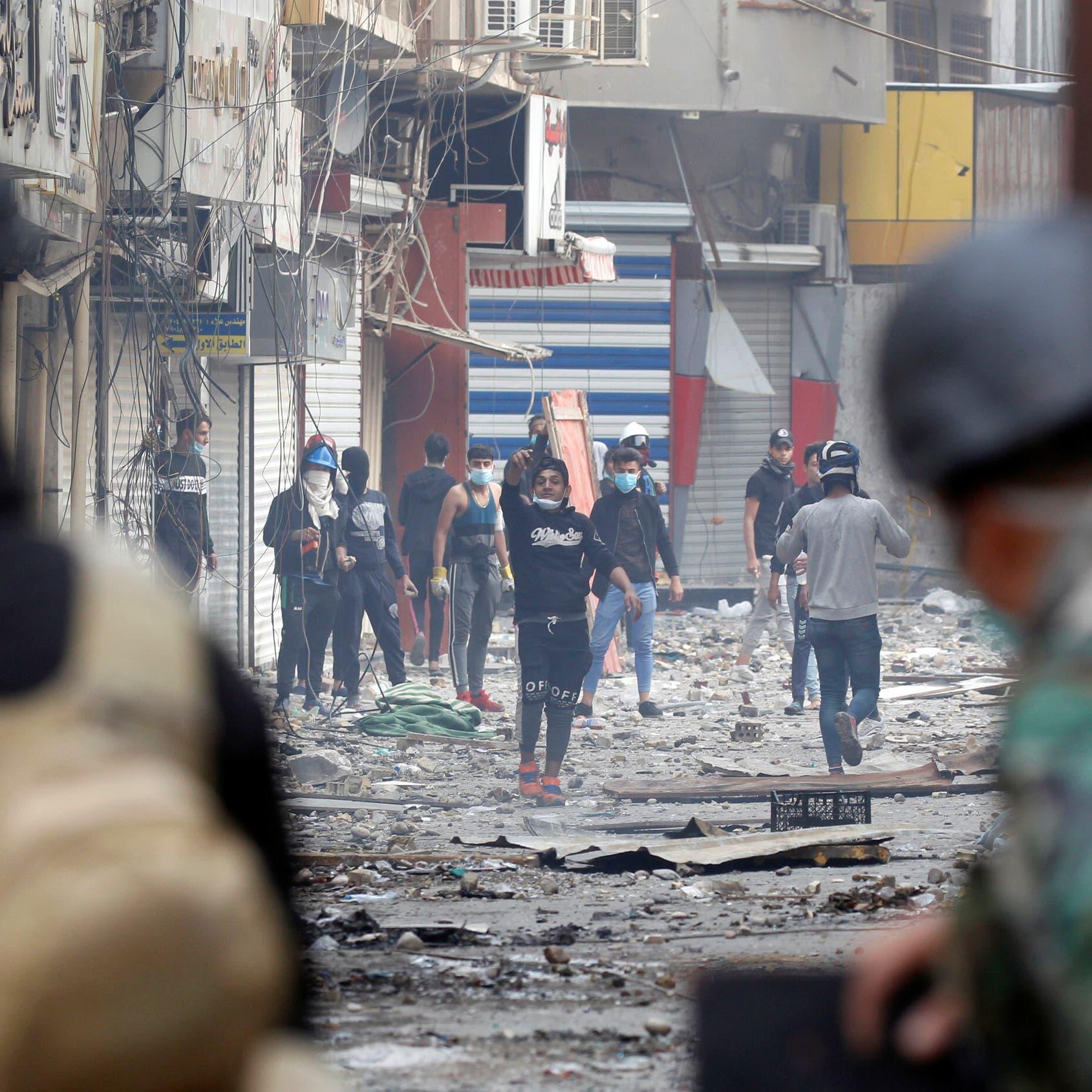العراق.. تحذيرات من استخدام العنف ضد المحتجين السلميين