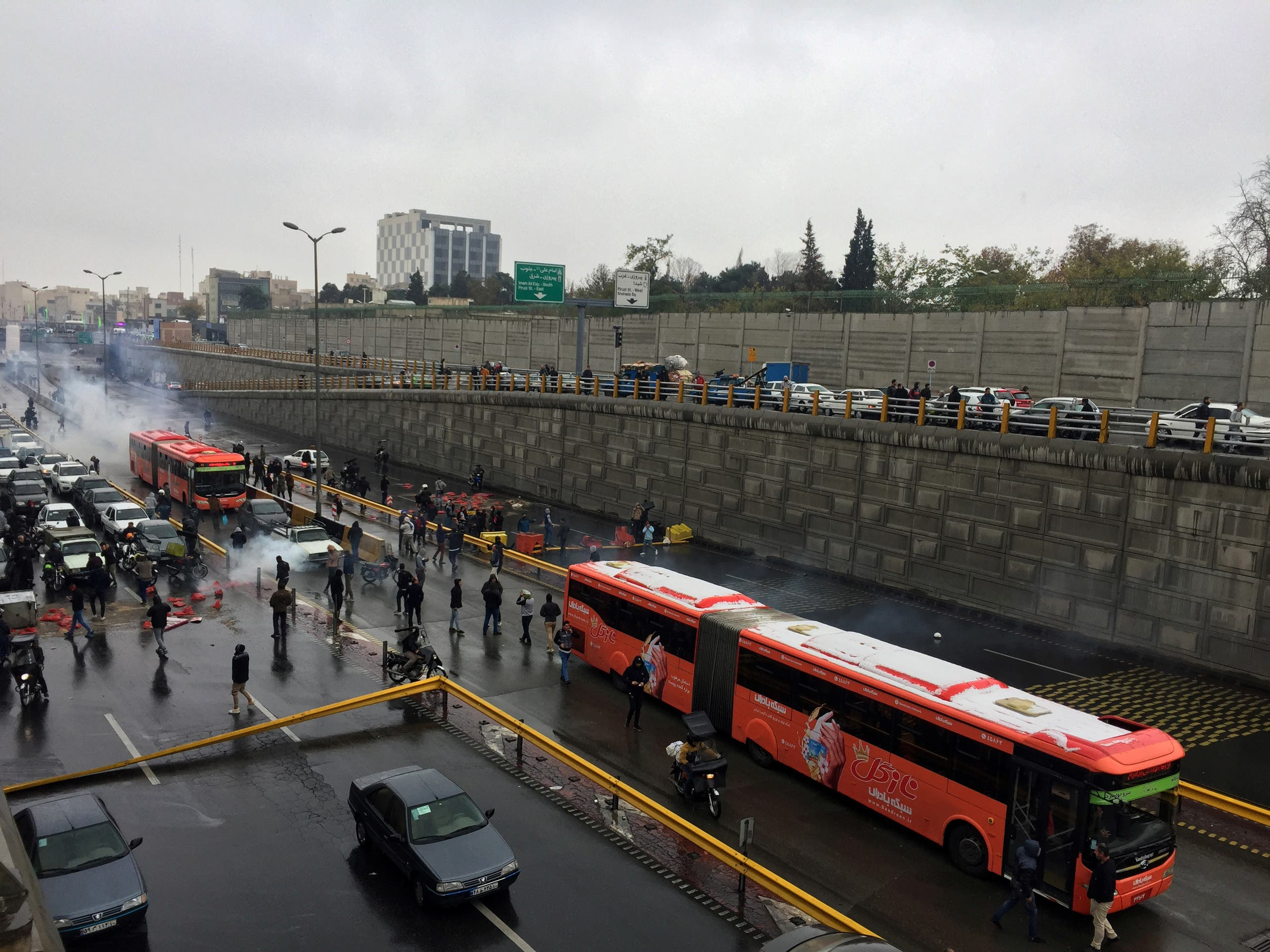 من طهران يوم 20 نوفمبر