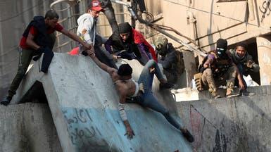 """قيادة بغداد تنفي سقوط قتيل.. واعتقال """"مخربين"""""""