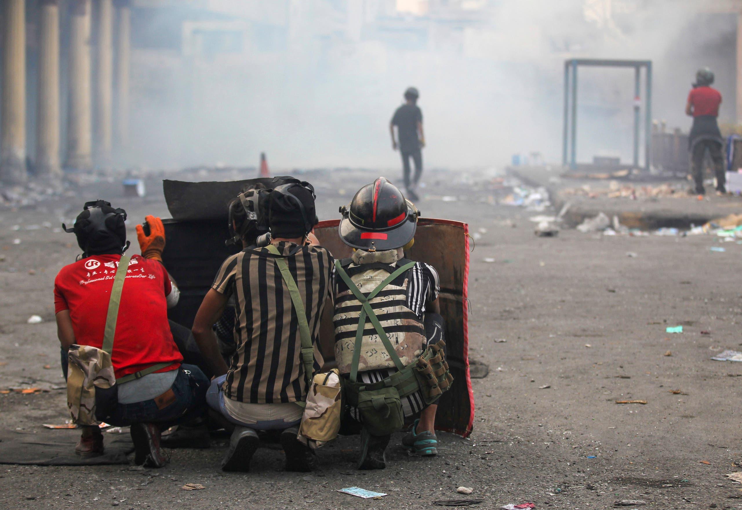 من بغداد (25 نوفمبر- فرانس برس)