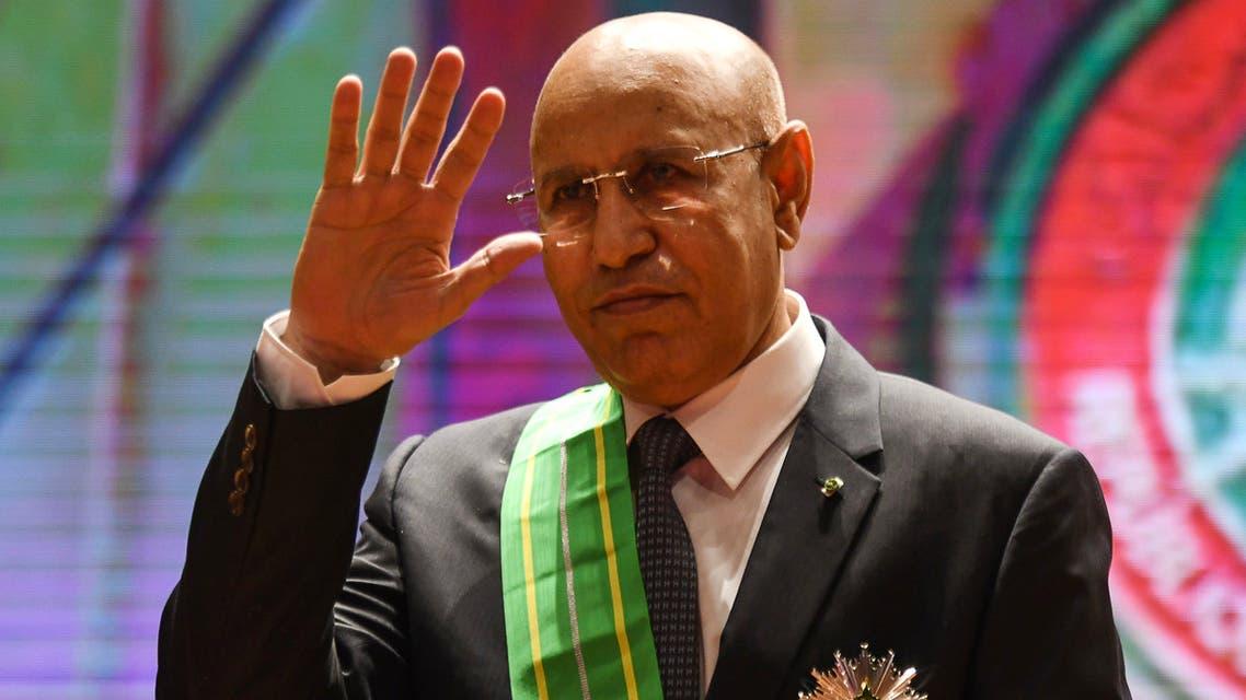 الرئيس الموريتاني ولد الشيخ الغزواني (فرانس برس)
