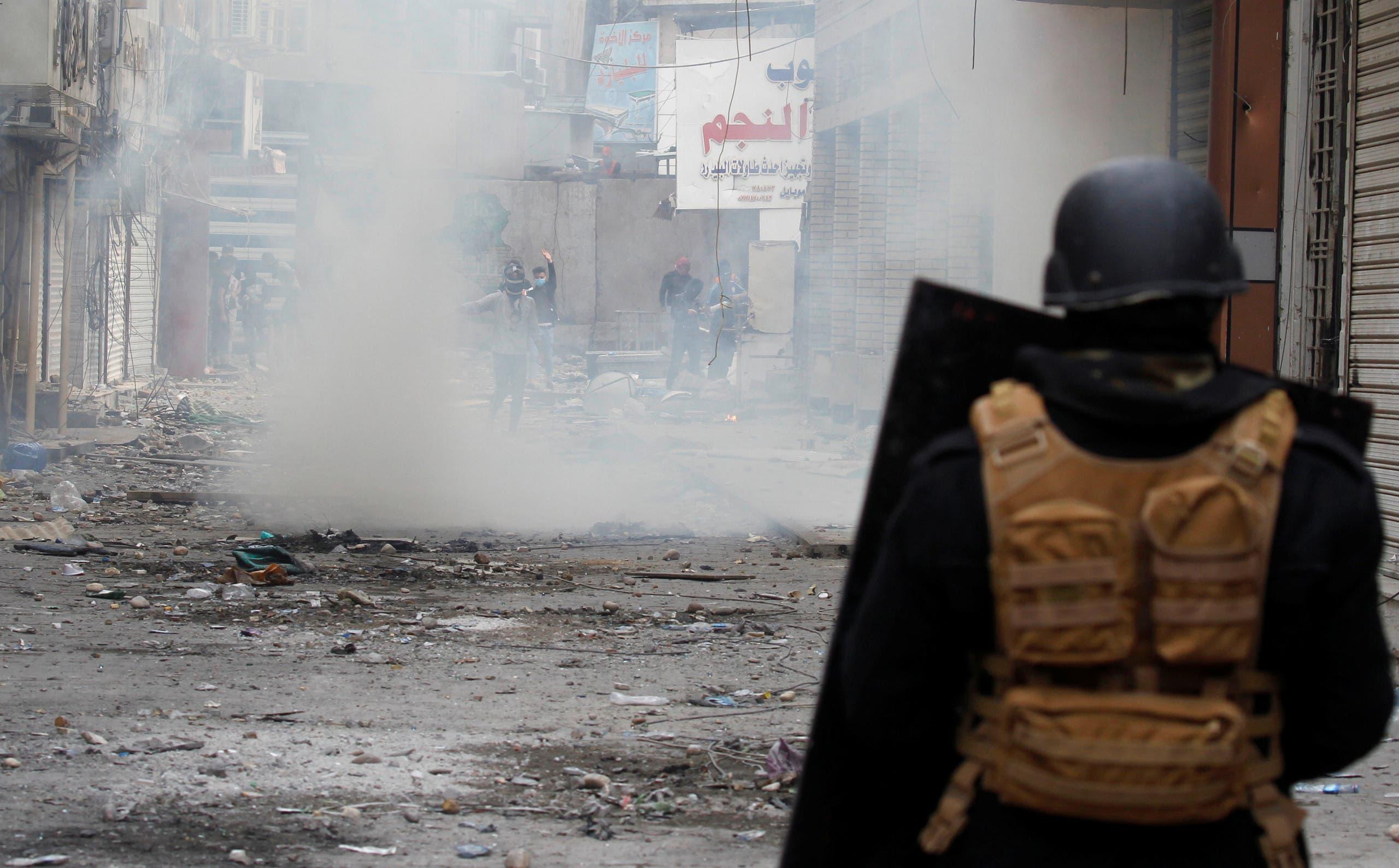 من بغداد الاثنين