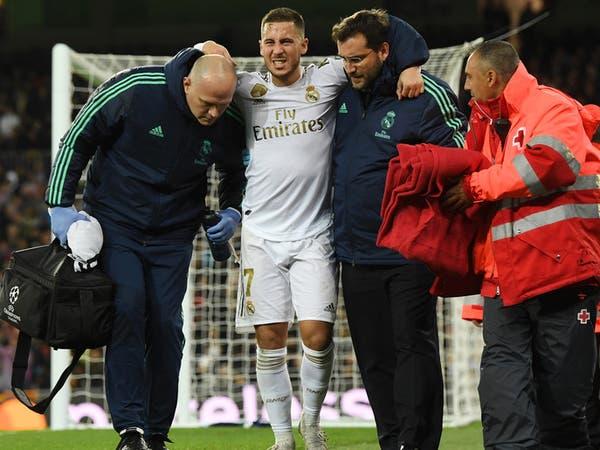 الفحوصات الطبية تطمئن ريال مدريد على هازارد