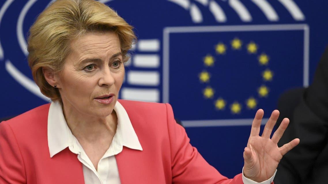 European Commission President Ursula von der Leyen November 2019