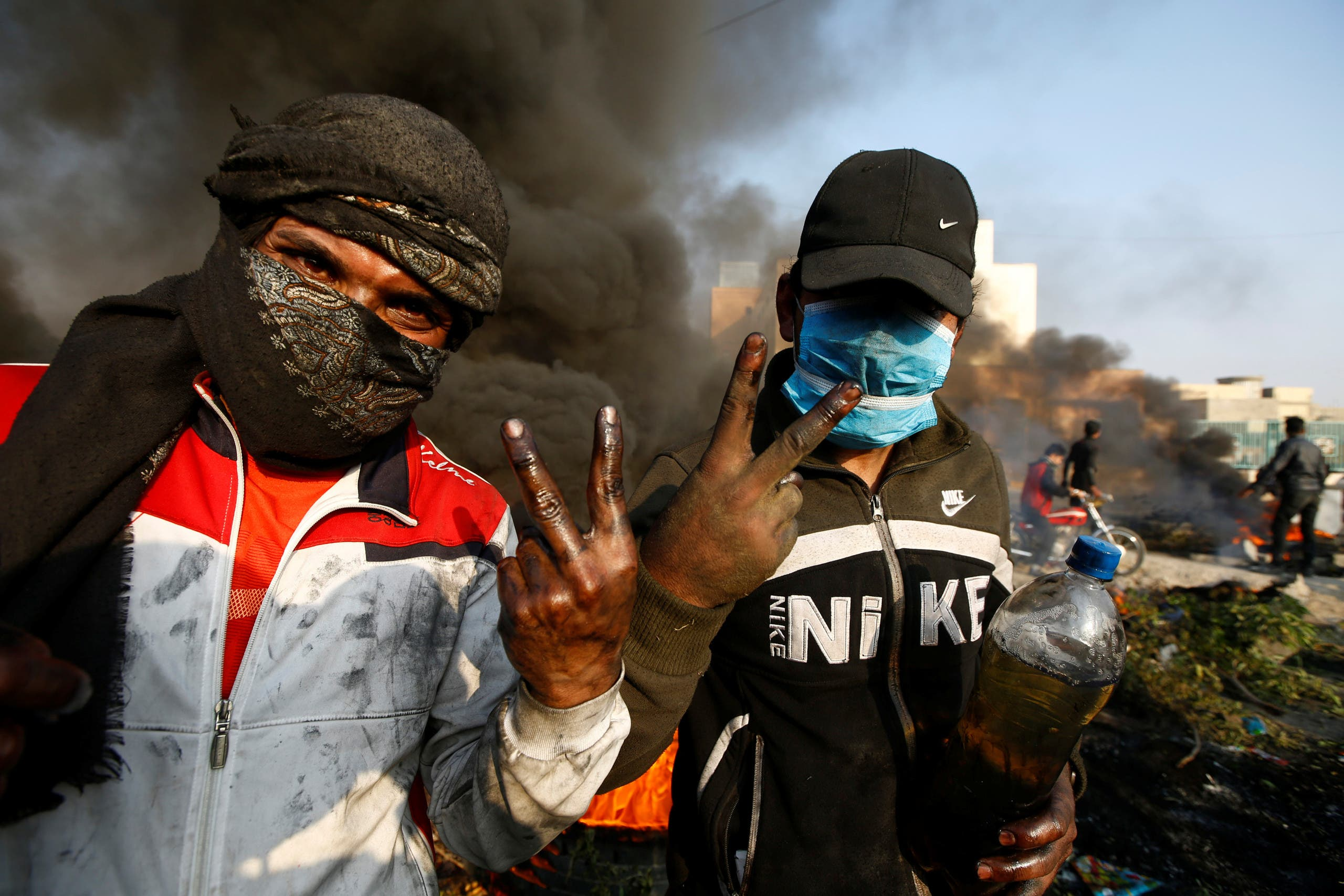 من الاحتجاجات العراقية