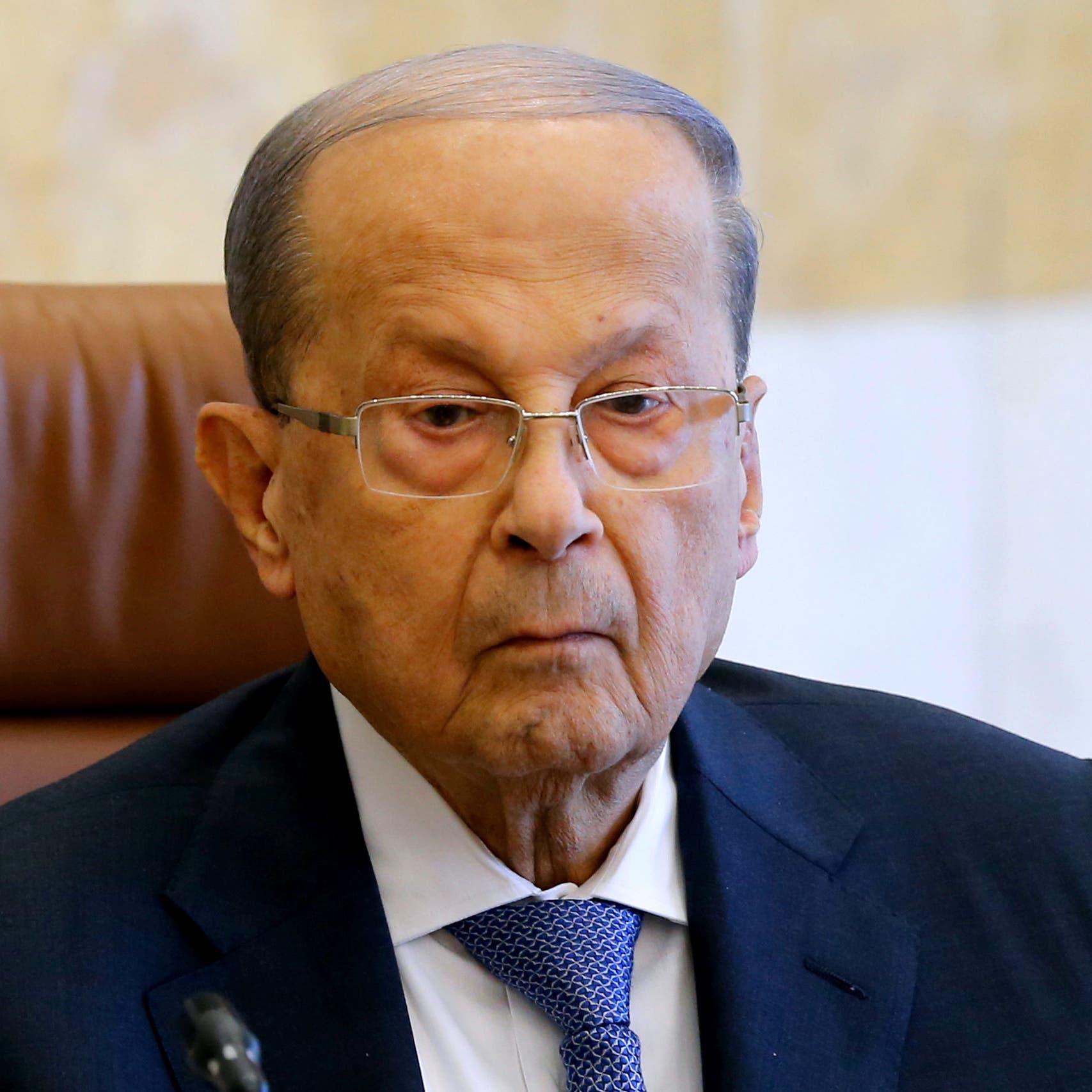 رئيس لبنان يعزي نظيريه بإيران والعراق بقتل سليماني والمهندس