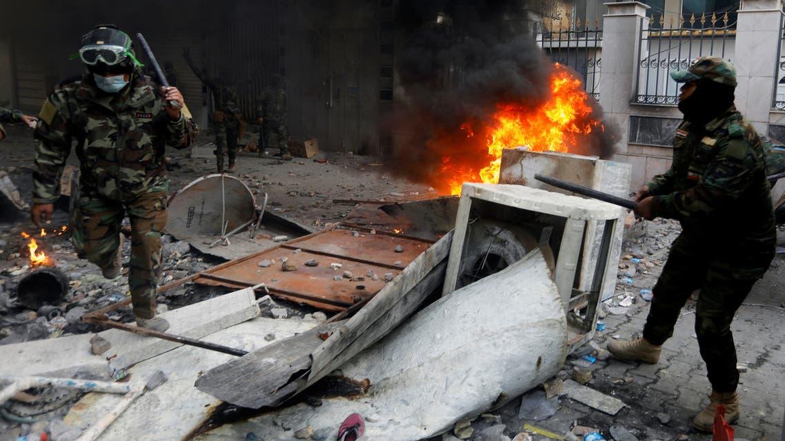 من اشتباكات العراق