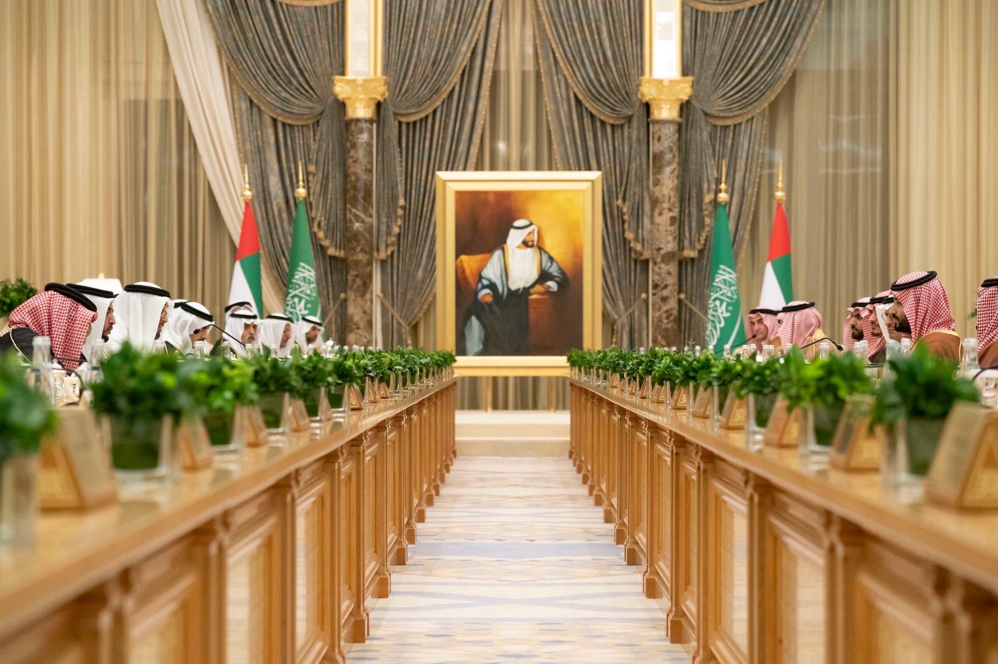 صور اجتماع المجلس التنسيقي السعودي الاماراتي