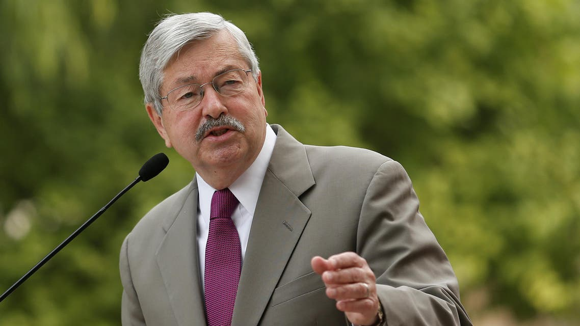 US Ambassador to China Terry Branstad in 2017, newly appointed - Reuters