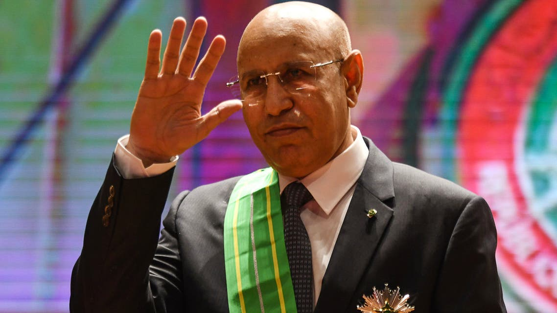 AFP Mauritania president Mohamed Ould Cheikh El Ghazouani