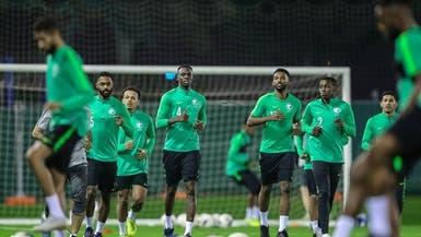 الأخضر يبدأ استعداداته لمواجهة البحرين