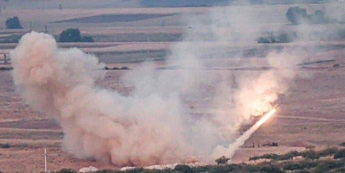 توپخانه ارتش ترکیه