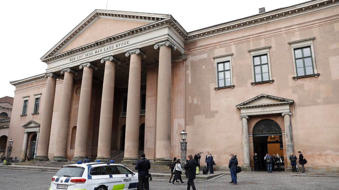 court Copenhagen Denmark AFP